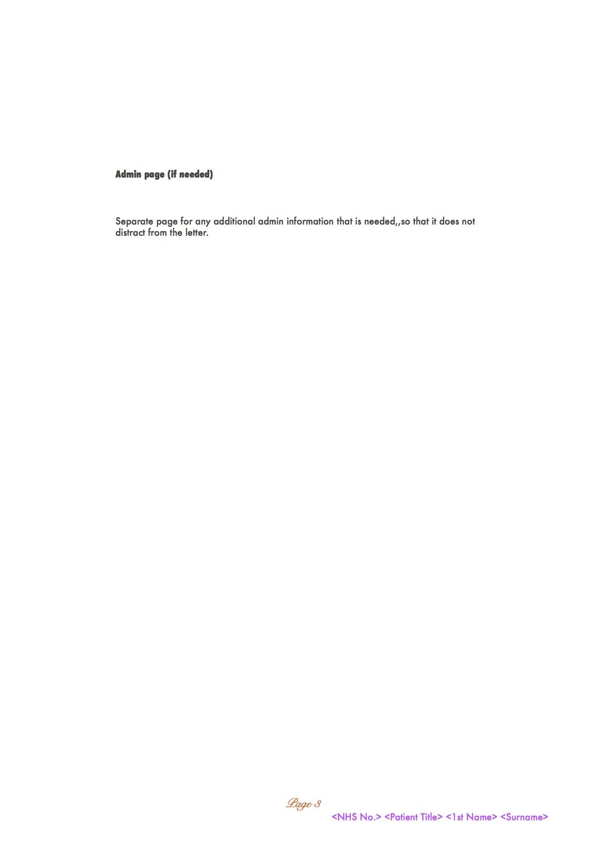 Cancer gpknowhow woodingdean brighton hove referral letter template draft minimum dataset v1 2710 p3 altavistaventures Images
